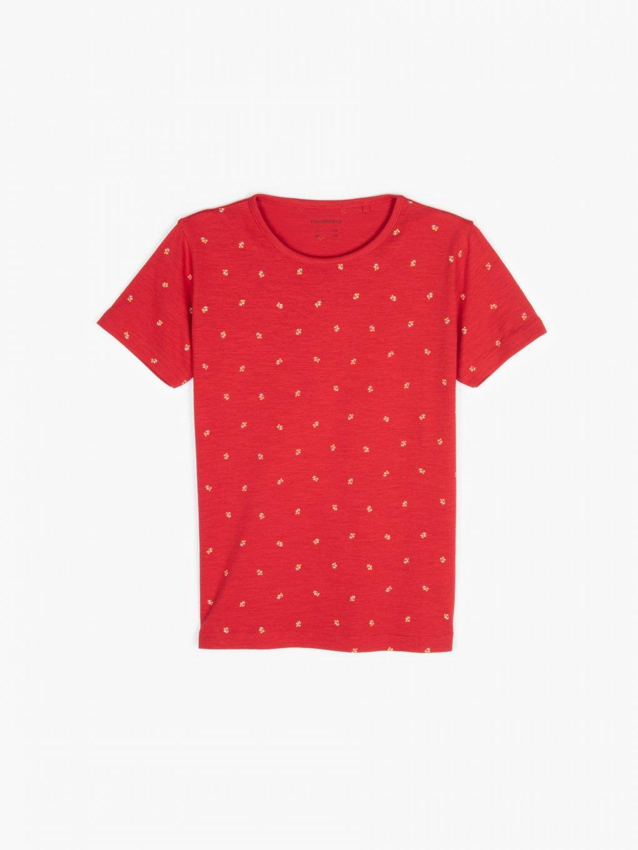 Tričko s kvetinkovou potlačou
