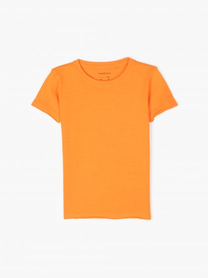 T-shirt basic z bawełny