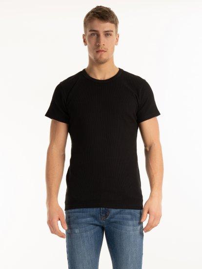 Základné vafľové tričko