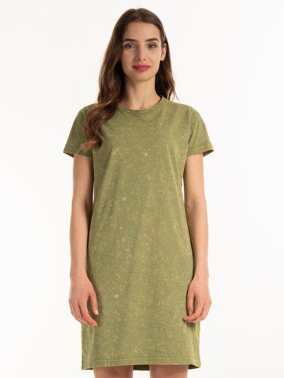 Sukienka typu T-shirt