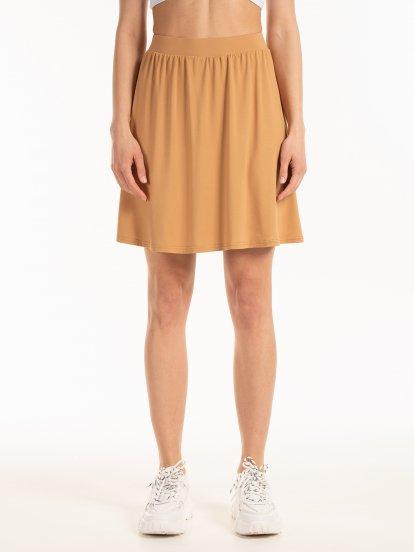 Základná áčková sukňa