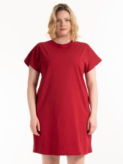 Sukienka basic z bawełny