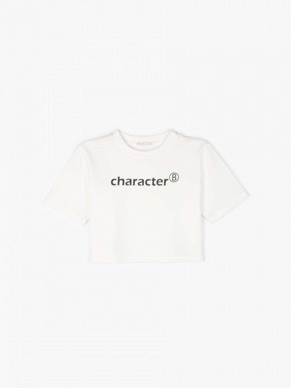Mikinové tričko s nápisem