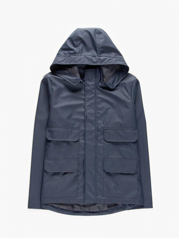 Gumowana kurtka przejściowa