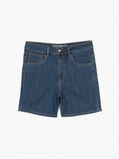 Szorty jeansowe basic