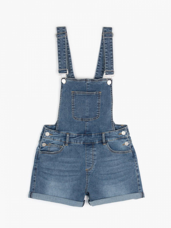 Szorty jeansowe na ramiączkach