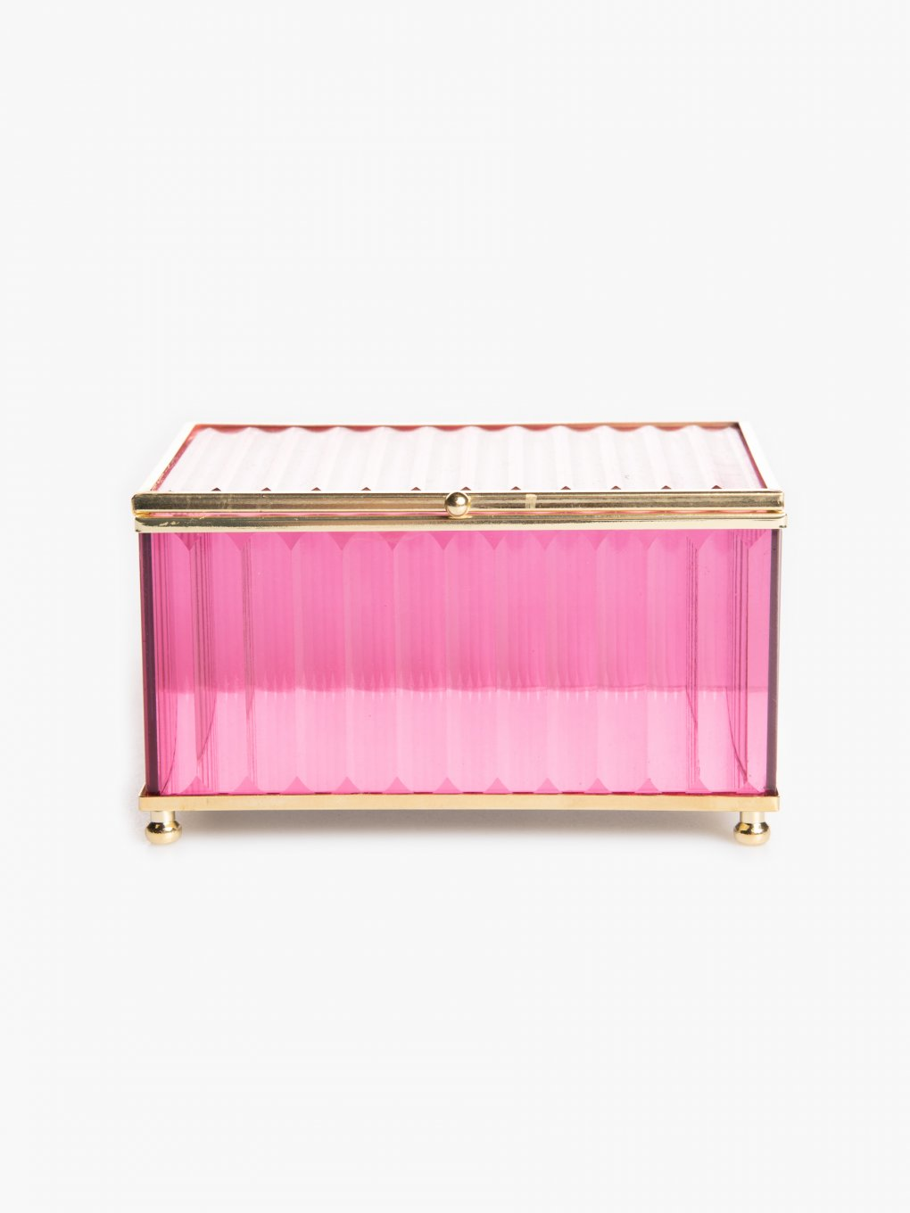 Decorative glass box