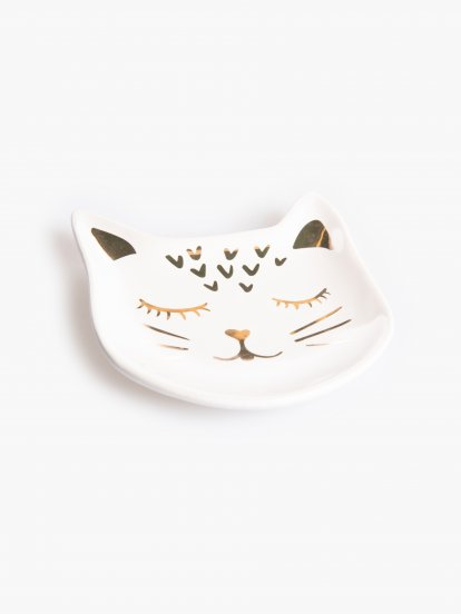Decorative cat tray
