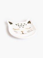 Decorative cat tray