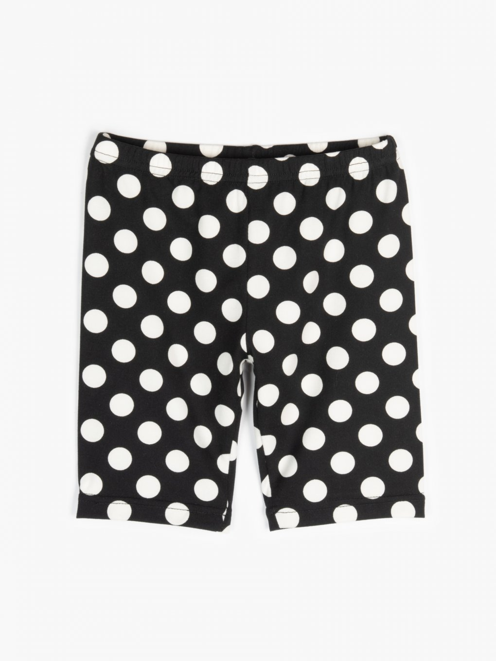 Polka dot cycling shorts