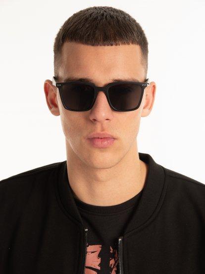 Okulary przeciwsłoneczne kwadratowe