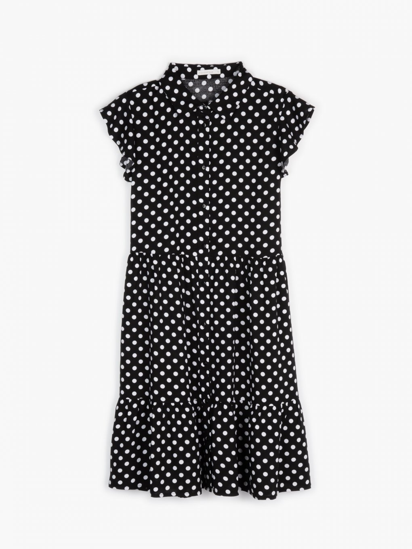 Puntíkované šaty
