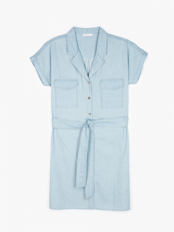 Denimové šaty