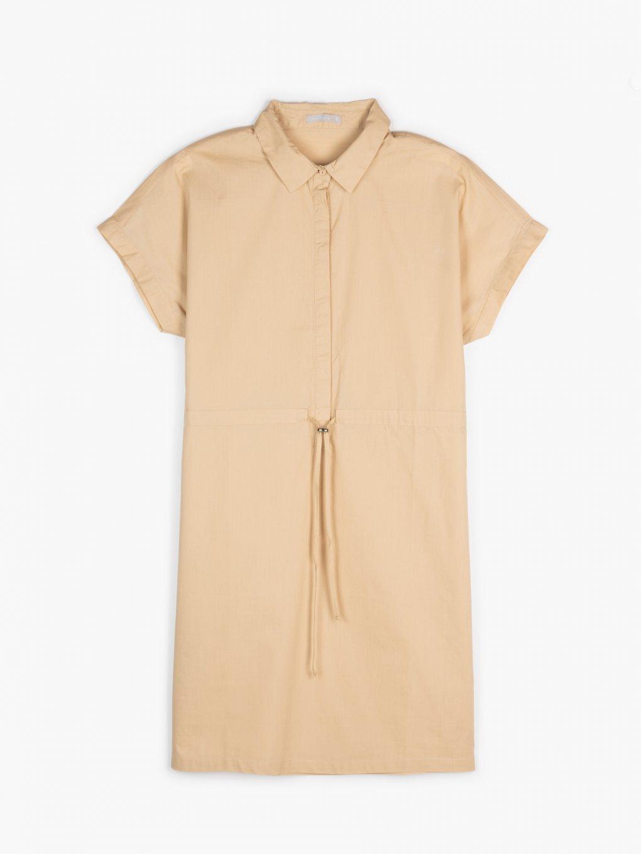 Cotton safari dress