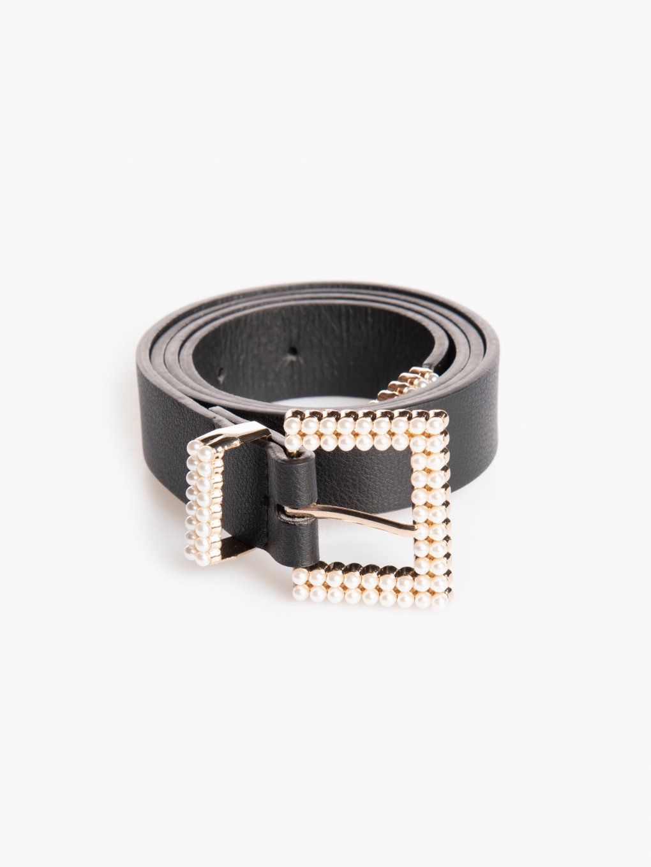 Pásek s perlami