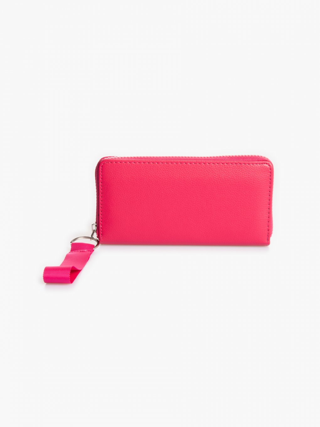 Wallet with textile strap
