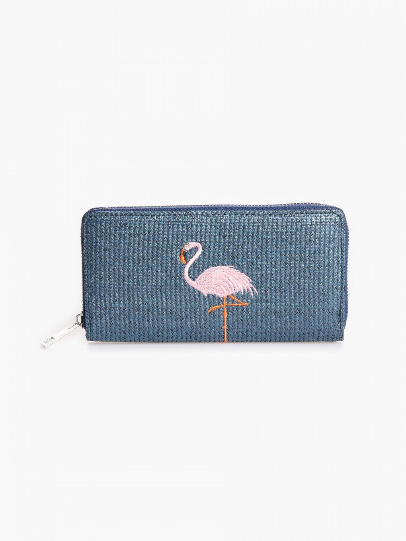 Peňaženka s výšivkou