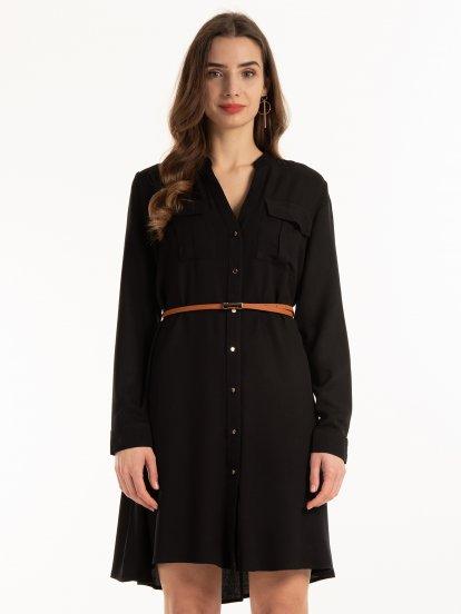 Šaty s opaskom
