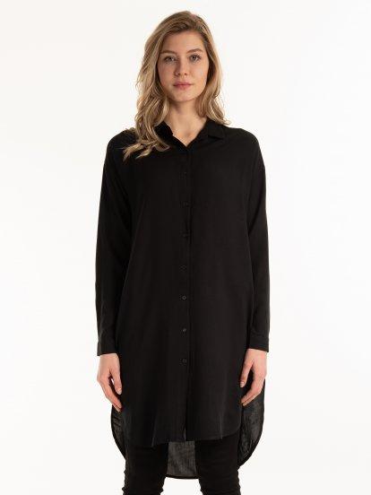 Longline plain shirt