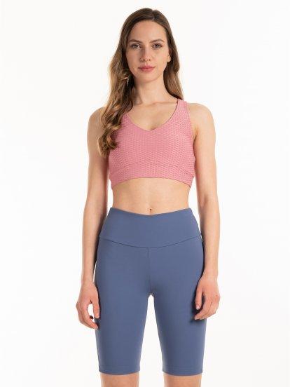 Structured bra top
