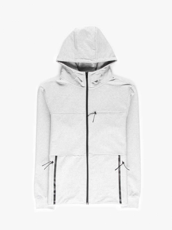Zip-up training hoodie