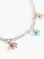 Naszyjnik z zawieszkami motylkowymi