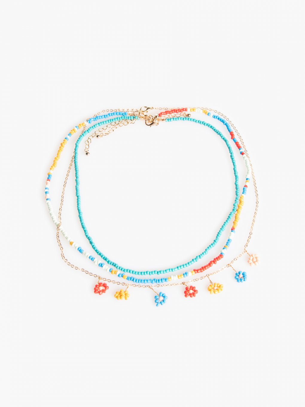3-pack beaded necklaces