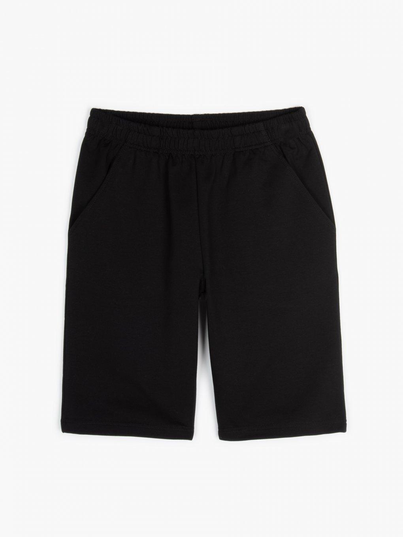 Sweatshorts with pockets