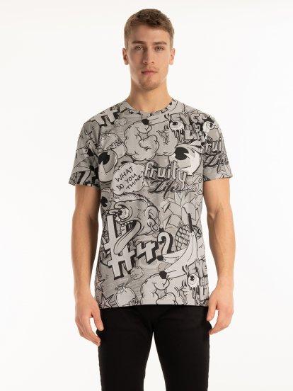 Potištěné tričko