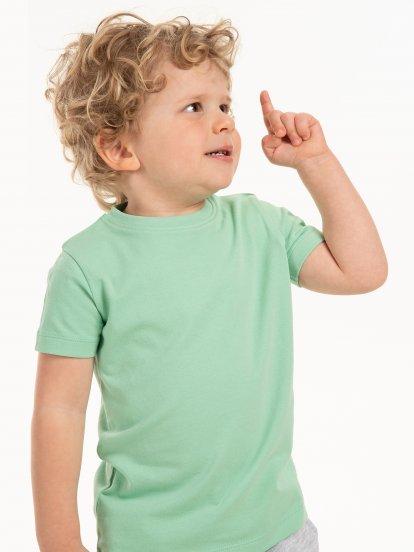 T-shirt basic ze stretchem