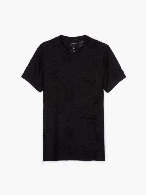 Koszulka z dziurami