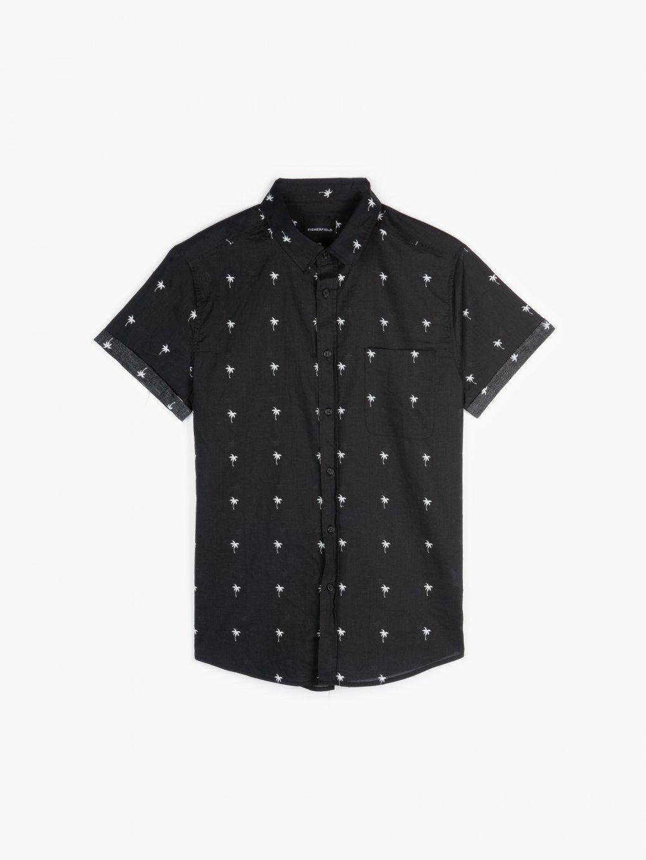 Bavlnená košeľa s potlačou