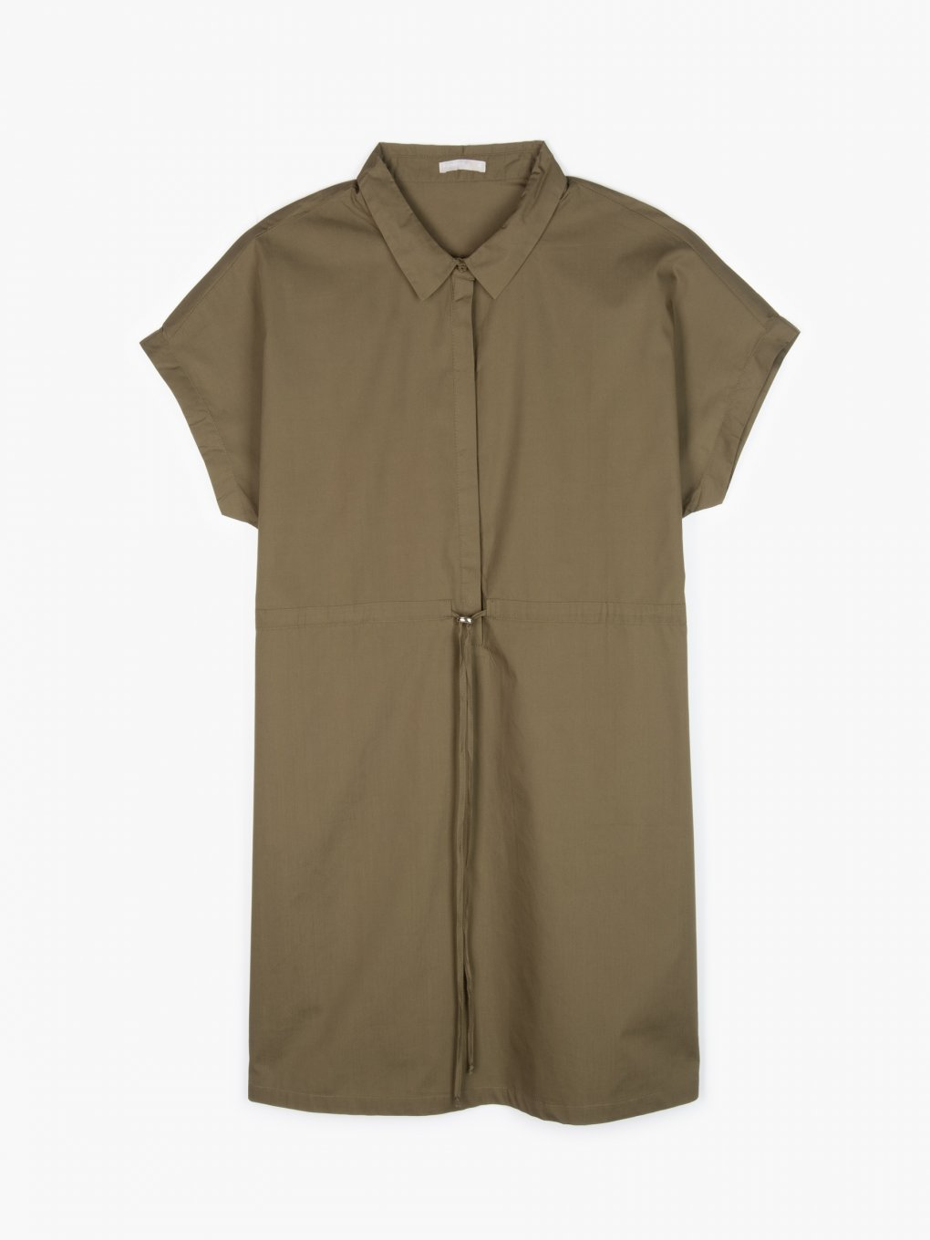 Cotton safari dress