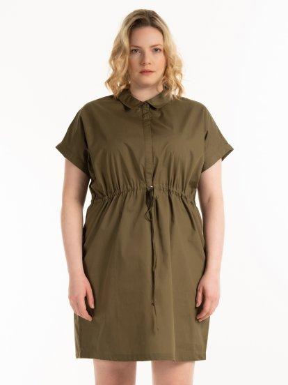 Bavlnené šaty safari