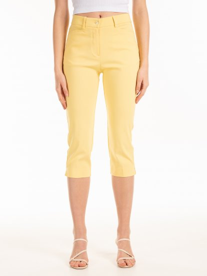 3/4 leg skinny pants