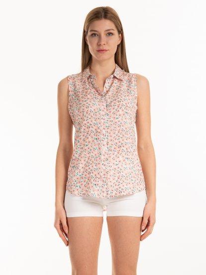 Floral top blouse