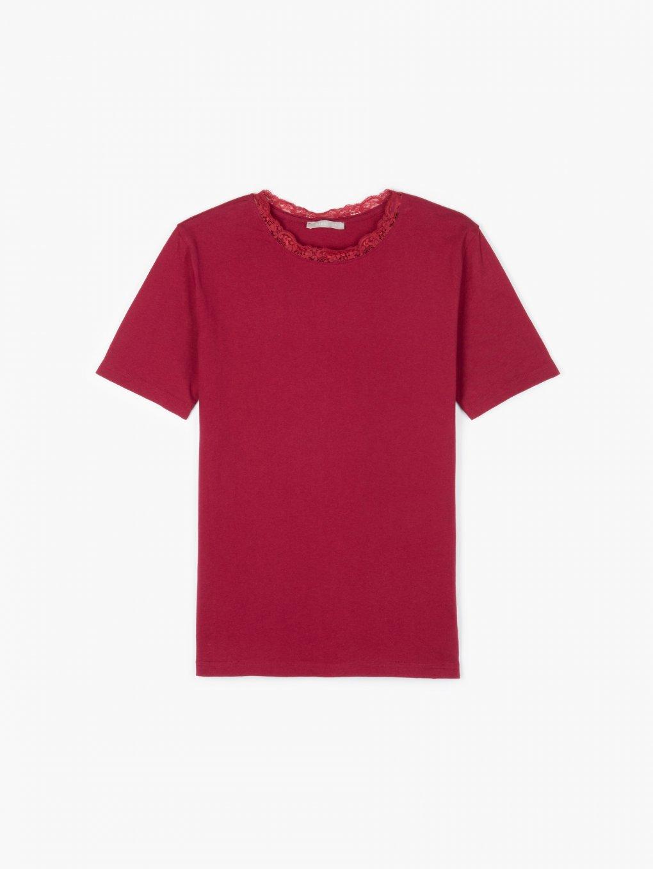 Základní tričko s krajkou