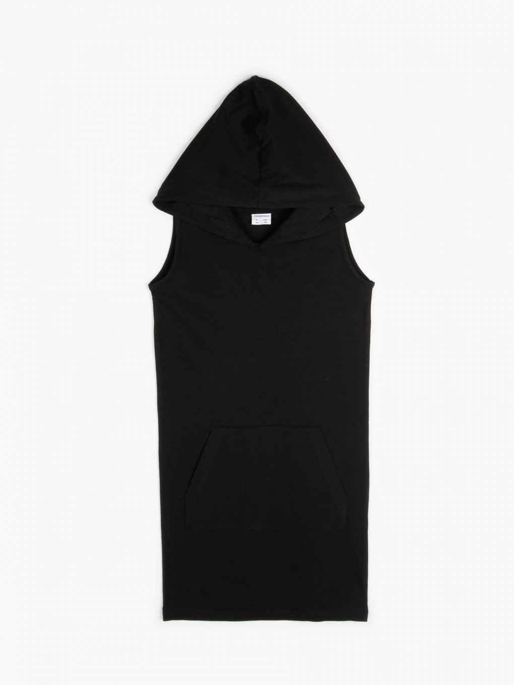 Sleeveless sweatshirt dress