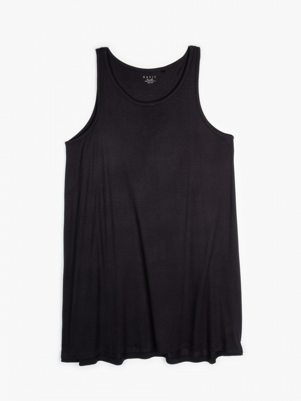 Základné viskózové tielkové šaty