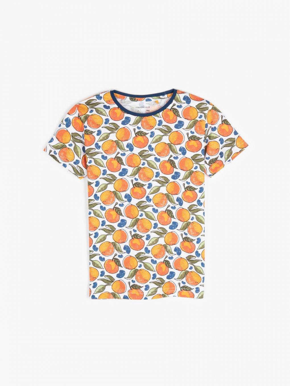 Bavlněné potištěné tričko