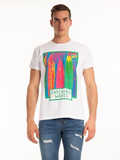 Tričko s grafickou potlačou