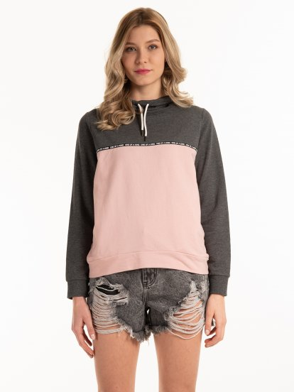 Colour block sweatshirt