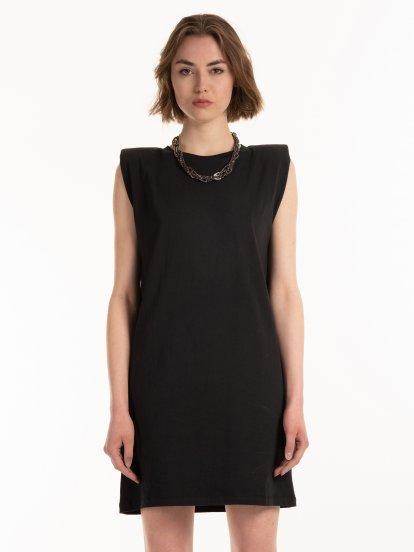 T-shirtowa sukienka