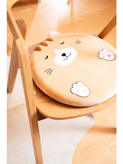 Round animal cushion