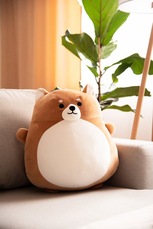 Poduszka w kształcie psa