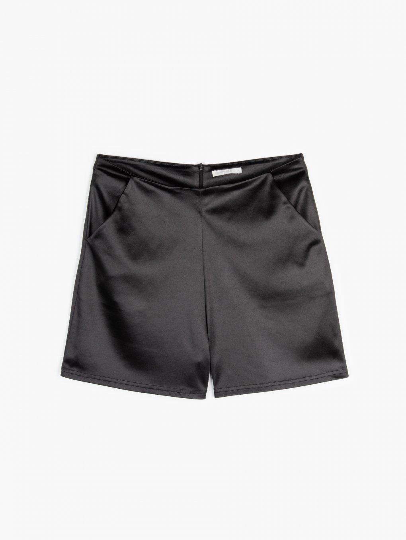 Strečové šortky s kapsami