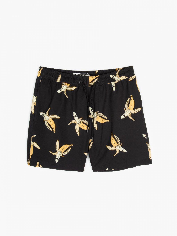 Strečové plavecké šortky s potiskem