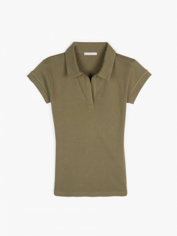 Koszulka polo z bawełny basic
