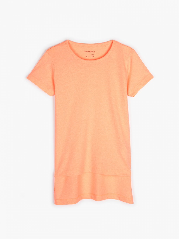 Cotton blend t-shirt
