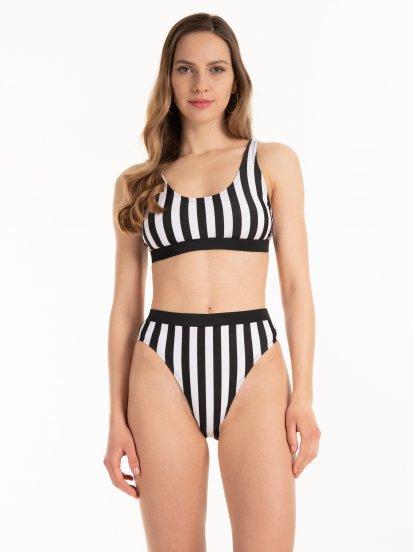 Bikini alsó magas derékkal